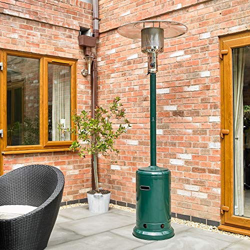 Kingfisher PHEATER1 Garden Outdoor Gas Patio Heater - Green