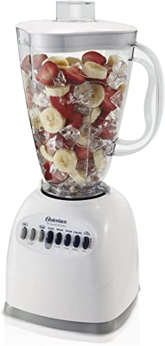 wholesale OSTER 6640 online sale ampndash NP1 10-Speed Blender high quality with Plastic Jar, 48 Ounce, White outlet sale