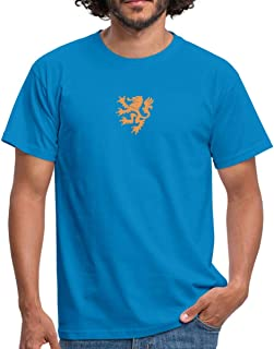 Spreadshirt Wapen Van De Leeuw Nederland Mannen T-shirt