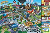 Poster The Simpsons - Springfield - 91.5 x 61 cm