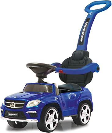Jamara- Push Car GL63AMG Blue 2in1 Corre Pasillo Mercedes GL63 AMG 2i n 1, Color (460307)