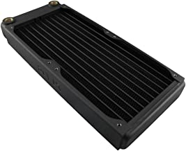 XSPC EX240 Radiator, 120mm x 2, Dual Fan, Black