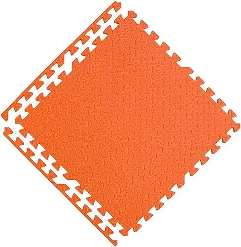 ordene ahora los precios más bajos WHAIYAO Alfombra Puzzle Apto for Niños Juego Gatear Gatear Gatear Colchoneta De Ejercicios Alta Seguridad Durable, 8 Colors (Color   naranja, Talla   20pcs)  diseños exclusivos