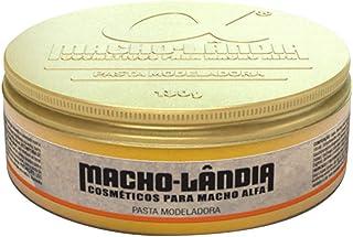 Pomada Modeladora Para Cabelo Macho-lândia Pasta Fix 130g