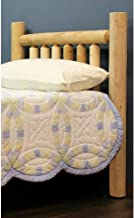 product image for Lakeland Mills Unfinished Wooden Headboard, Queen: 64 in. W x 4.5 in. D x 48 in. H (40 lbs.) ,