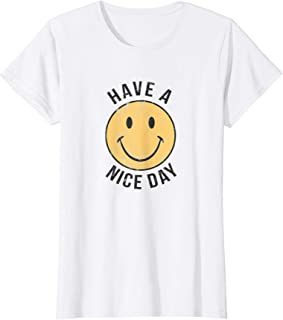 Womens HAVE A NICE DAY SHIRT | 70's Retro TShirt | 70's Graphic Tee