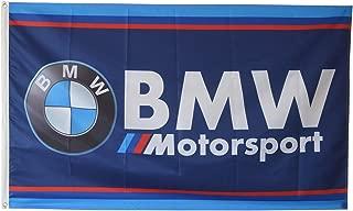 Dimike BMW Flag Motorsport M Power Racing 3X5Ft Banner