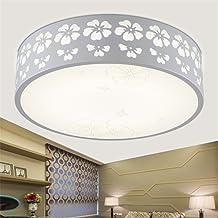 Lámpara de techo con bombillas LED - Lámparas de diseño para dormitorio y salón, diámetro 30cm, 12W