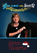 Dementia / Alzheimer's Christmas Music for Seniors - Singing for Elderly - Santa's Favourites - Fun Activity for Nursing Homes & Assisted Living - Sing Along with Susie Q - Large On-Screen Lyrics in Low Keys