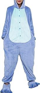 emmarcon Hei&szliges Unisex-Kost&uumlm f&uumlr Karneval und Halloween, Cosplay Zoo, Einheitsgrö&szlige Stitch azzurro Medium