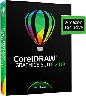 CorelDRAW Graphics Suite 2019 with ParticleShop Brush Pack for Windows - Amazon Exclusive - Upgrade [PC Disc]