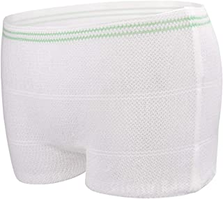 Disposable Postpartum Underwear for Women Carer Maternity Mesh Panties Briefs Breathable,Stretchy (X-Large, 20PCS)