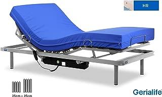 Gerialife® Pack Cama articulada con colchón Sanitario HR Impermeable (90x190)