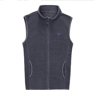 TieNew Men's Full-Zip Polar Fleece Vest Warm Soft Comfort Lightweight Sleeveless Jacket Body Warmer Outdoor Jacket Gilet ...