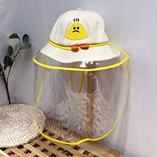 Hat Protective Cap Kids Eye Protection Hat Anti-Saliva Transparent