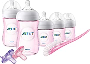 Philips Avent Natural Baby Bottle Pink Gift Set, SCD206/11