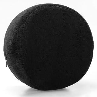 YYBF Memoria algodón Clip Pierna Almohada Multifuncional de la Pierna Lento Rebote Hermosa Almohada de la Pierna 26 * 20 * 15cm Negro Redondo