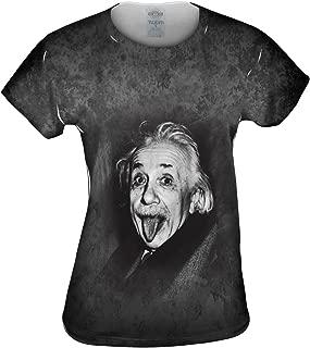 Women's FirstHistory Co-Albert Einstein Sticks Out His Tongue Shirt
