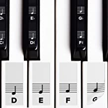 Piano Stickers for White & Black Keys w/Complete Not