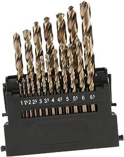 Main Gauche HSCO RÉSISTANT COBALT Drill Set 7 mm à 10 mm dans boîtier métallique