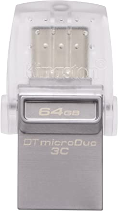 Kingston DataTraveler microDuo 3C DTDUO3C/64GB USB 3.0/3.1 Type-A e Type-C