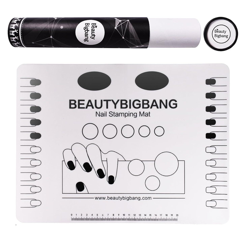 完璧公然と承認するネイルアートパッド ネイルマット シリコン 洗える 再使用可能 マニキュア 着色 汚れ防止