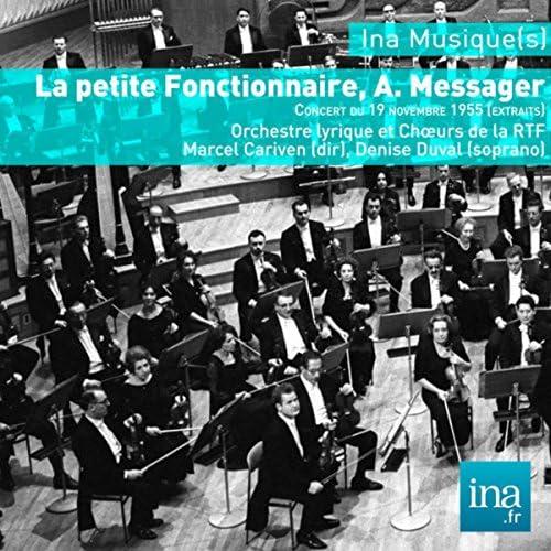 Marcel Cariven, Denise Duval & Orchestre Lyrique de la RTF