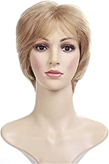 Asdfnfa Forever Young Ladies Short Blonde Wig Bob Style