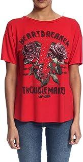 Camiseta Feminina Estampada Manga Curta Be Red 341200080