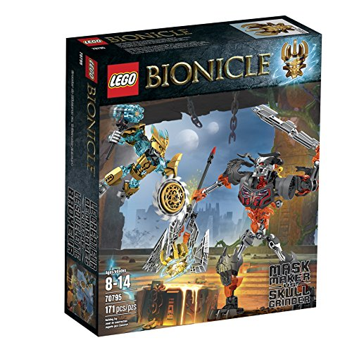 LEGO Bionicle 70795 Mask Maker vs. Skull...