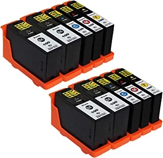 ESTON 10 Pack 100XL High Yield Ink Cartridges for Lexmark Prevail Pro705 Prospect Pro205 Printer