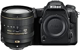 Nikon D500 20.9MP Digital SLR Camera (Black) with AF-S DX 16-80 f/2.8-4E ED VR Lens and 64 GB High Speed Sandisk Card