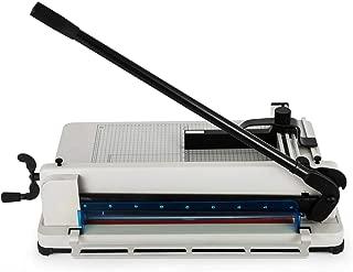 Guilhotina papel A3 semi industrial 400 folhas 17 polegadas GT825 - Lorben