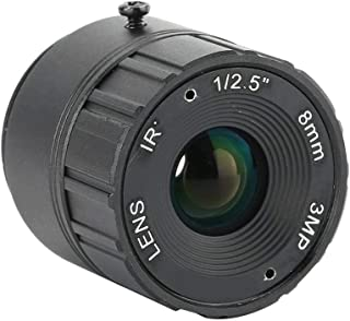 Wide Field Camcorder Camera Lens Clearly 8mm Lens for Converter AW Fixed-Non-Zoom Lens CCTV DSLR
