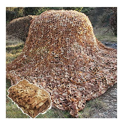 ZXCVBAS Tarnnetz,Tarnnetze,Camouflage Netting Desert Camo Net Desert Digitales Camo-Netzwerk/Jagd Im Freien Camping Markise Strandnetze, Autoabdeckung Hausdekoration,5 *...