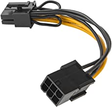 6 Pin Male to 8 Pin Male PCIe Express Power Adapter Cable for Graphics Video Card 6Pin to 8Pin PCI-E Power Cable 20CM
