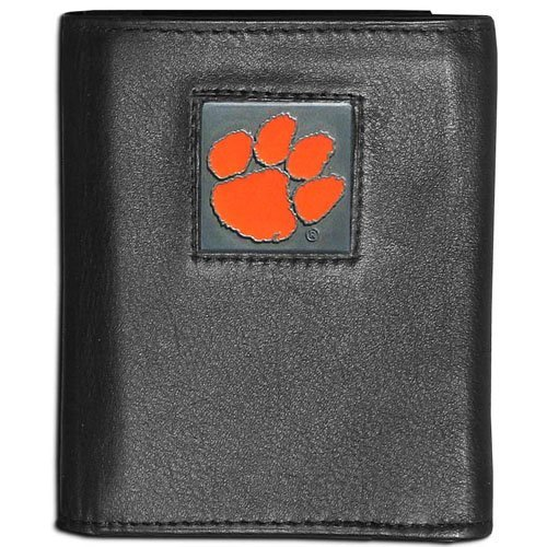NCAA Rico Industries  Laser Engraved Trifold Wallet Auburn Tigers