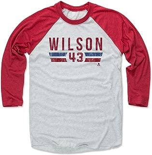 Tom Wilson Shirt - Vintage Washington Hockey Raglan Tee - Tom Wilson Font