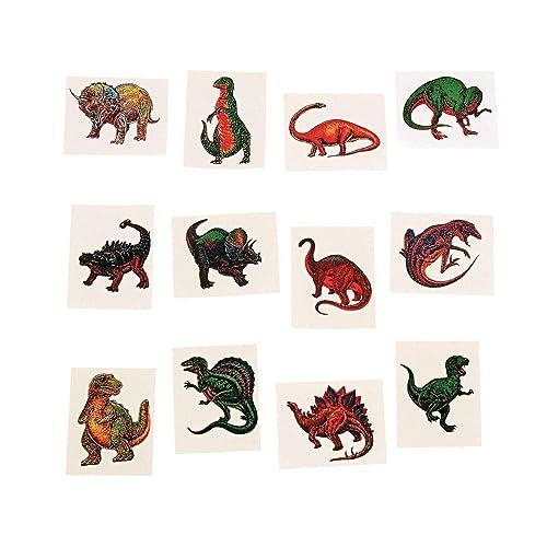 6f612601a Fun Express Dinosaur Temporary Tattoo Stickers - 72 Pieces