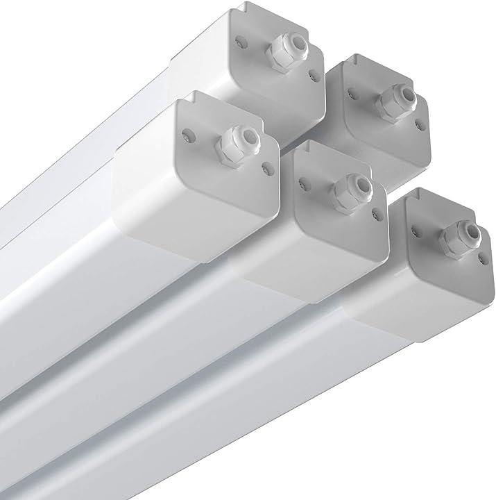 Plafoniera stagna led integrato 45w collegabili anten cellarlux