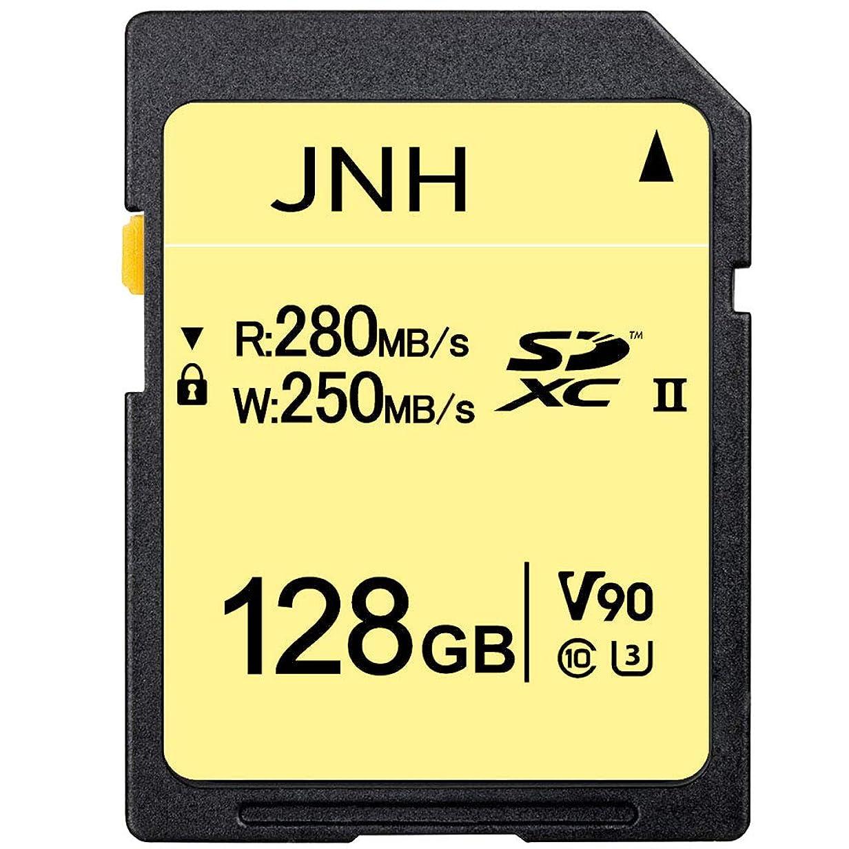 改修する弱点詳細にSDカード SDXCカード 128GB JNH UHS-II 超高速280MB/s Class10 U3 V90 8K Ultra HD 対応 【国内正規品 5年保証】