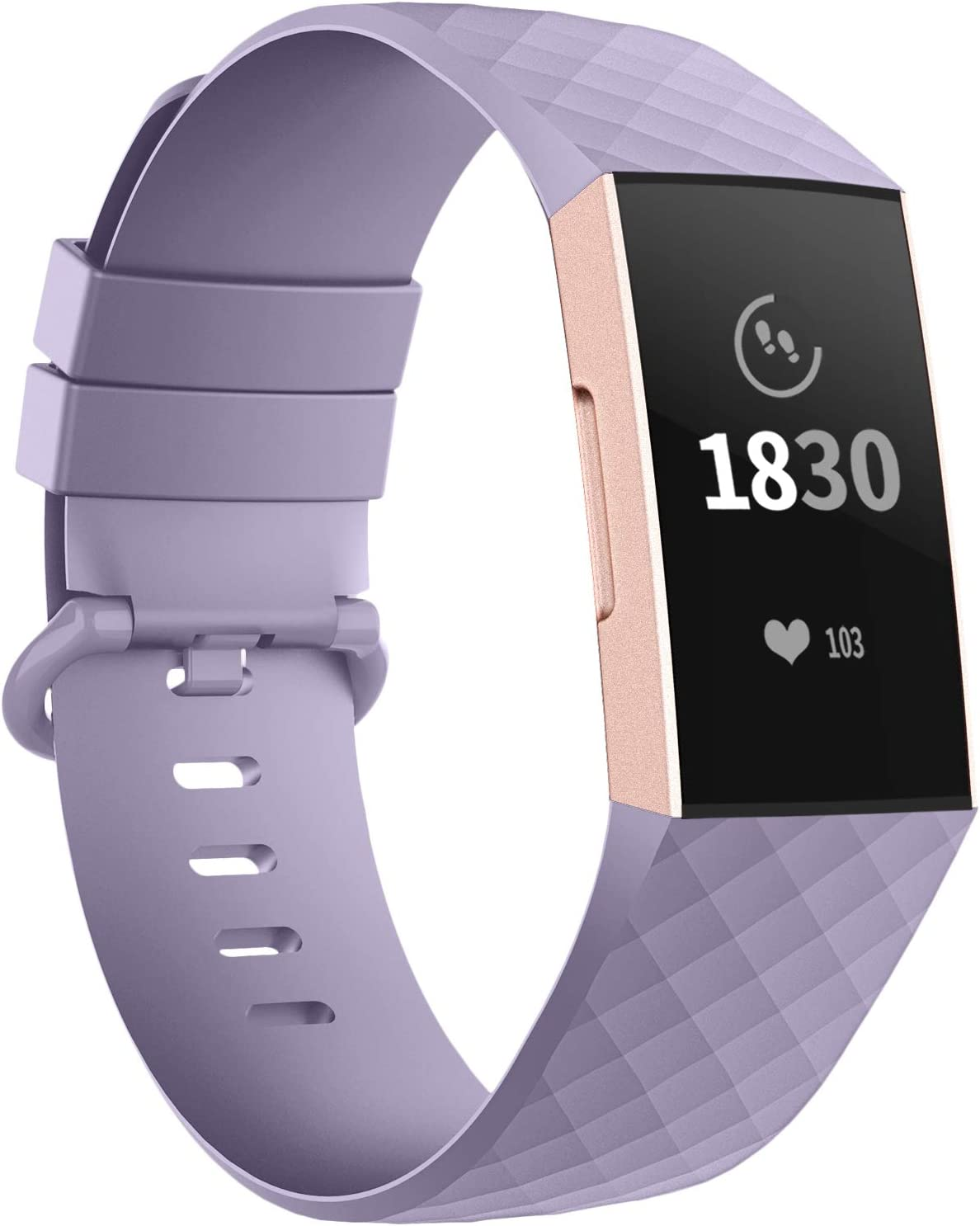 Malla para Fitbit Charge 3 SE and Fitbit Charge 4 lavanda /S