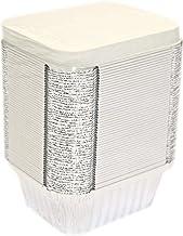 50 Aluminum Foil Food Containers, Freezer Safe Storage/