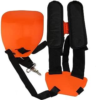 KIMENRY Trimmer Shoulder Strap, Trimmer Harness Strap Double Shoulder Mower Nylon Belt with Easily Adjustable for Brush Cutter Garden Lawn