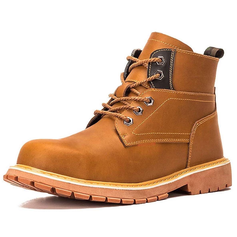 コンクリート映画ディベート安全靴 作業靴 ワークブーツ ハイカット マーティン ブーツ 鋼先芯 ケブラー繊維 耐滑 耐油