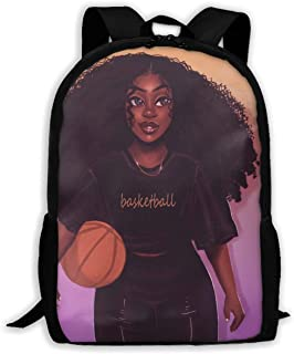 School Backpack Black Art African American Women Girl Afro Black Women Bookbag Casual Travel Bag For Teen Boys Girls