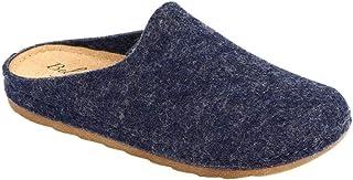 Zuecos para mujer, lana, color azul