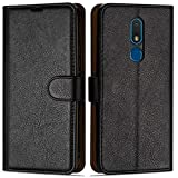 Case Collection Premium Leather Folio Cover for Nokia C3