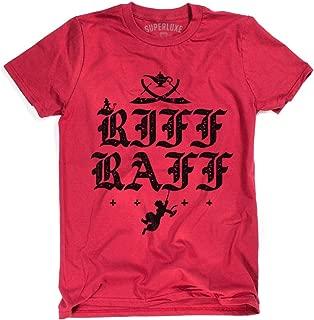 Superluxe Clothing Mens/Womens/Unisex Riff Raff Funny Street Rat T-Shirt