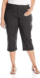 Women's Plus Size Relaxed-fit Austyn Knit Waist Capri Pant